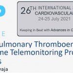Detección de enfermedad tromboembólica pulmonar con protocolos de telemonitorización